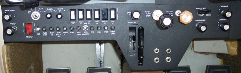 AircraftPanel com - Custom Metal Instrument Panels and Overlays for