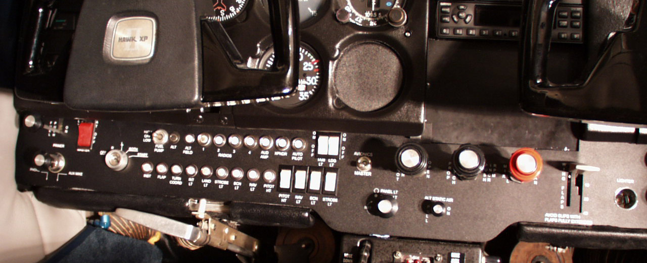 AircraftPanel com - Custom Metal Panels and Overlays for